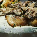 Morel Mushroom White Cream Steak Sauce